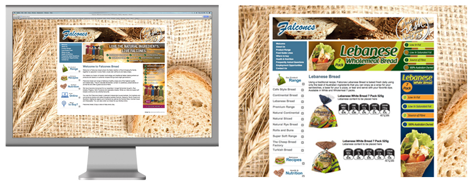 Falcones Bread new online ordering system launches.