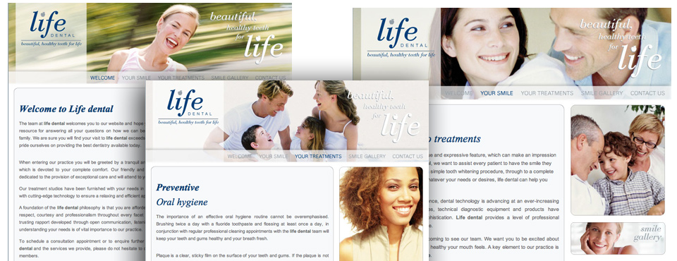 Life Dental new website in the making.....