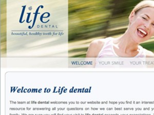 Life Dental New Website