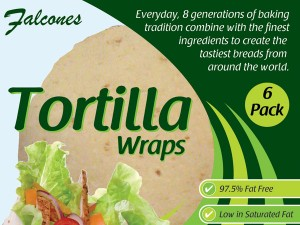 Tortilla Wrap Package
