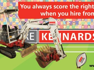 Kennards Hire Footy Campaign