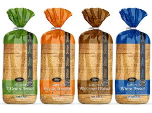 Natural Bread Package Wrapper